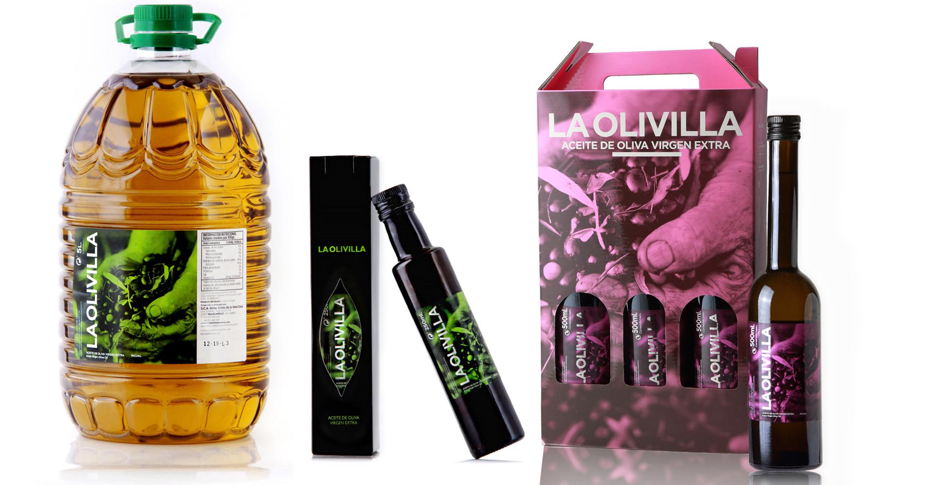 aceites de oliva LA OLIVILLA de Villacarrillo